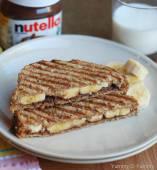 Tosta Banana Nutella XXL