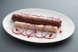 Люля-кебаб із міксу телятини та свинини (150/50/30г)
