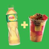 Lipton (400 ml.) + snack de frutas