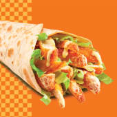 CRISPY CHICKEN WRAP