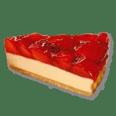 Prăjitură cu cremă de brânză și căpșune