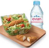 Menu salade Chicken Caesar