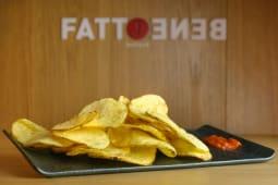 """Chips di patate """"Fine de Ratte"""""""