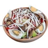 Čobanska salata (sa pušenim mesom)