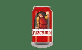 Cerveza Cruzcampo lata (33 cl.)