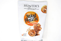 Hunter's Gourmet Baked Pretzos- White and Black Sesame