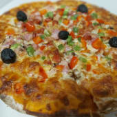 Pizza pequeno trevo