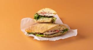 Ramstek Baget sendvič
