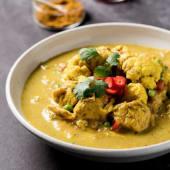Pollo coco curry (sin gluten, recomendación del chef)