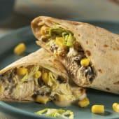 Burrito de pollo poblano