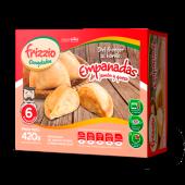 Empanadas de jamón y queso (6 uds.)