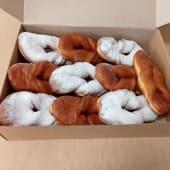 Коробка пончиків без начинки (10шт)
