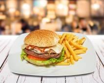 Hambúrguer de Queijo