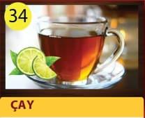 Cay - tea with lemon