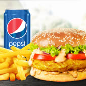 Meniu Mediu Burger de pui