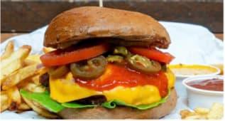 Chili Cheeseburger - 130G