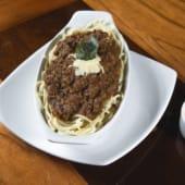 Spaghetti a lo Alfredo