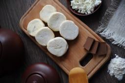Сирники Бананові з шоколадом заморожені