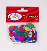 Confeti 14Gr Globos 12X26Mm Ref.050-0081