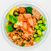 Salmón bowl