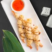 Тигрові креветки темпура з соусом світ чілі (200г)