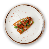 Boniato, maíz dulce & Bacon