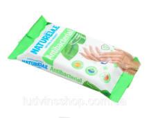 Серветки вологі антибактеріальні (15шт)