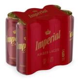 Imperial Roja X 6 Latas 473Cc