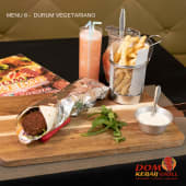 Menu 8 - Durum-Wrap Vegetariana