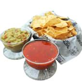 Chips + Salsa & Guacamole