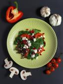 Салат зі шпинатом і гранатом (220г)