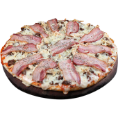 Pizza tricarne (familiar)