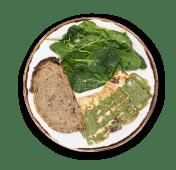 TOFU Fresco con Salsa de Hierbas