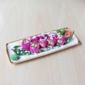 137. Uramaki Special veg flower