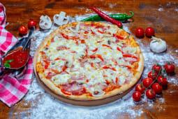 Pizza Quatro Stagioni mica