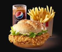 Chicken Zinger (frites moyennes + canette 25cl)