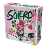 Solero Frutos Rojos X5Mp 240ml