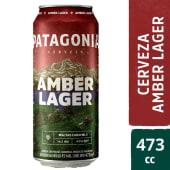 Cerveza Patagonia Amber Lager 473ml