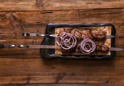 Шашлик із телятини (100г)