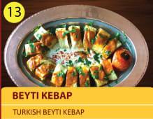 Beyta Kebap - Turkish Byti kebap plate