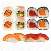 D. Sushi Yoko Super Mix, 12 Piezas