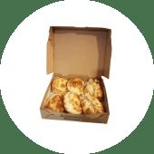 Combinado de empanadas de quesos (6 uds.)