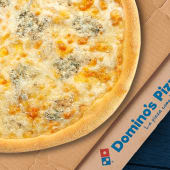 Pizza Mediana - Cuatro Quesos