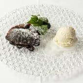Souffle De Chocolate Caliente