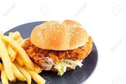 Chicken Burger Chips
