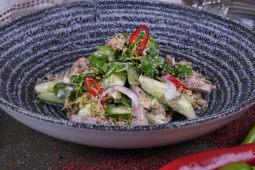 Салат з Джонджолі та телячим язиком (230г)