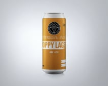 9MTA Hoppy Lager 4.5% 473ml