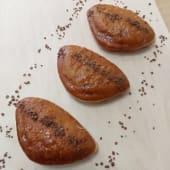 Три пончики з нутелою
