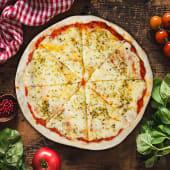 Pizza doble muzzarella (pequeña)