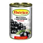 Оливки Чорні без кісточки (280г)